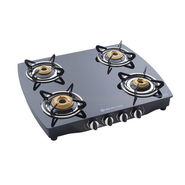 Bajaj 4 Burner Glass Top-CGX10SS