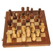 AVM 3inch Japanese Chessmen (3 inch Border, Brown Yellow)