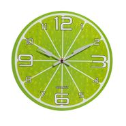 Charming Green Shade Analog Wall Clock