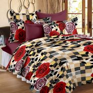 Storyathome 100% Cotton Double Bedsheet With 2 Pillow Cover-CN1261