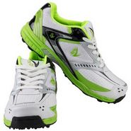 V22 Cricket Stud Shoes  Green & White Size - 11