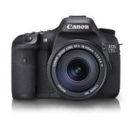 Canon EOS 7D Kit II (EF S18-135IS) DSLR Camera - Black