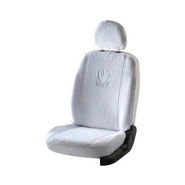 Car Towel Seat Covers for Mahindra Bolero - White