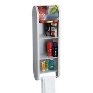Cipla Plast Roll Top Bathroom Cabinet - BRC-706-FWH