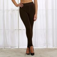 Cloe Nylon Spandex Plain Stocking - Brown - ST0023W06