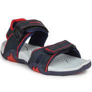 Columbus Synthetic Leather Grey Blue & Red Floater -AB-774
