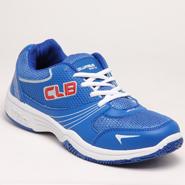 Columbus PU Sports Shoes - Blue-3686