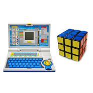 Combo Of Qunxing English Learner Laptop + Magic Cube 3X3