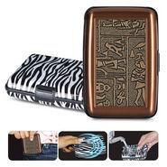 Combo of Zebra Print & Brown Designer Wallets - New