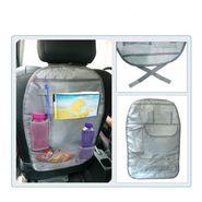 AutoStark Car Back Seats Multi-functional Pockets Storage Organiser Bag-Grey