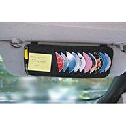 AutoStark Car CD Visor Holder DVD Storage Organiser Bag-Black Pack of 2