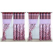 Storyathome Set of 2 Door curtain-7 feet-DCL_2-1003