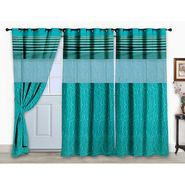 Storyathome Set 3 of Door curtain-7 feet-DCL_3-1001