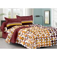 Valtellina 100% Cotton Double Bedsheet with 2 Pillow Cover-213-b