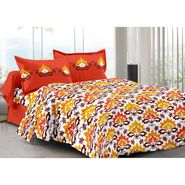 Valtellina 100% Cotton Double Bedsheet with 2 Pillow Cover-3003-E