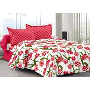 Valtellina 100% Cotton Double Bedsheet with 2 Pillow Cover-3009-E