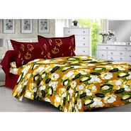 Valtellina 100% Cotton Double Bedsheet with 2 Pillow Cover-3025-B