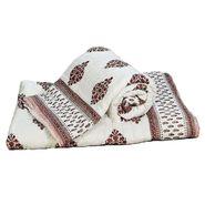Set of 2 Jaipuri Print Cotton Double Bed Razai Quilt-DLI4DRZ3302
