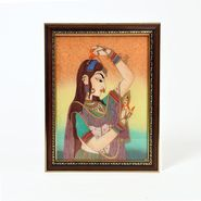 Little India Pretty Princess Bani Thani Gemstone Painting 339