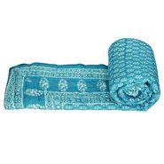 Jaipuri Print Cotton Single Bed Razai AC Quilt-DLI4SRZ114