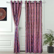 Story @ Home Purple 2 pc Door curtain-7 feet-DNR3024