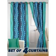 Set of 4 Printed Door curtain-7 feet-DNR_2_3022