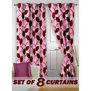 Set of 8 Printed Door curtain-7 feet-DNR_4_3062
