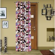 Story @ Home Pink 1 pc Digital Print Door curtain-7 feet-DRT1106