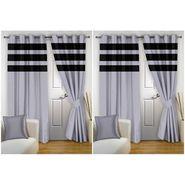 Storyathome Set of 4 Door curtain-7 feet-DTZ_2-1011