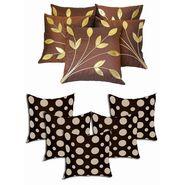 Dekor World Ultima Polka Dot Combo. Cushion Cover(Pack of 10 Pcs)-DWCB-133