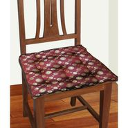 Dekor World Coin jacquard Chair Pad-DWCP-020