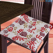 Dekor World Cotton Printed Chair Pad-DWCP-030