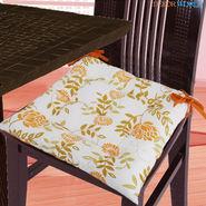 Dekor World Cotton Printed Chair Pad-DWCP-044
