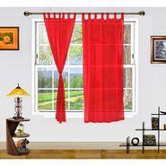 Dekor World Summer Fun Window Curtain- Set of 2 Pcs-DWCT-886-5