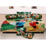 Set of 8 Dekor World Velvet Digital Printed Diwan Cover Set-DWDS-0122
