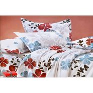 4D Printed  Double Bed Sheet With 2 Pillow Cover- DY-027