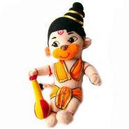 Delhi Haat Soft Toy - Lord Hanuman
