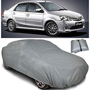 Digitru Car Body Cover for Toyota Etios - Dark Grey