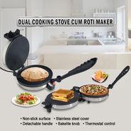 Dual Cooking Stove cum Roti Maker