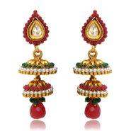 Branded Gold Plated Artificial Earrings_Er30014g