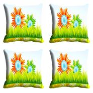 meSleep Happy Republic Day Cushion Cover (16x16) -EV-10-REP16-CD-030-04