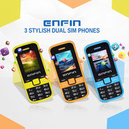 Enfin 3 Stylish Dual SIM Phones