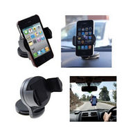 Fly Compact Mobile Car Holder Black - Pack of 2