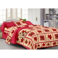 Storyathome 100% Cotton Single Bedsheet with 1 Pillow Cover-FY1117