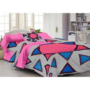 Storyathome 100% Cotton Single Bedsheet with 1 Pillow Cover-FY1128