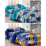 Set of 2 Single Bedsheet with 2 Pillow Cover-1216-1105