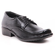 Foot n Style Italian Leather Formal Shoes  FS309 - Black