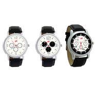 Pack of 3 Gledati Round Dial Men Watches_Gl135