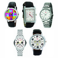 Pack of 5 Analog Watches For Men_G139