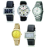 Pack of 5 Analog Watches For Unisex_G140